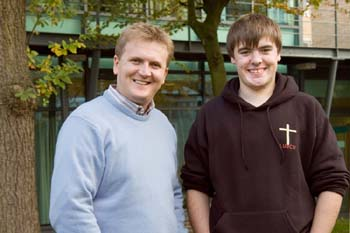 Aled Jones with Aled Seago