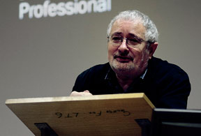 Professor Terry Eagleton, photograph courtesy of Ben Evans