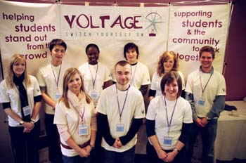 The team at LUVU involved in the Voltage project