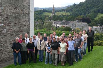 Scientists from all over the world gathered in the Lake District for the workshop