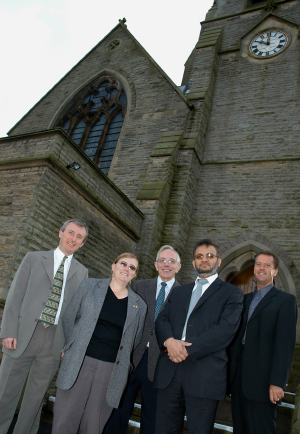 Andy Williams, Margaret Richardson, Colin Wills, Hamid Qureshi, Andrew Holden.