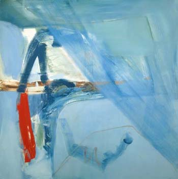 Peter Lanyon, Soaring Flight, 1960, oil on canvas, Arts Council Collection