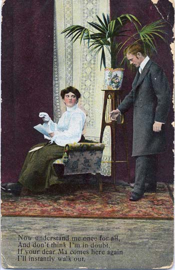 One of the six billion postcards sent during the Edwardian era