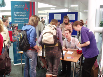 Students at Lancaster University's Science and Technology Taster Day 2007