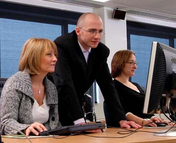 computer training at ICT Focus