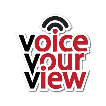 Voice Your View enables the public to register their views electronically